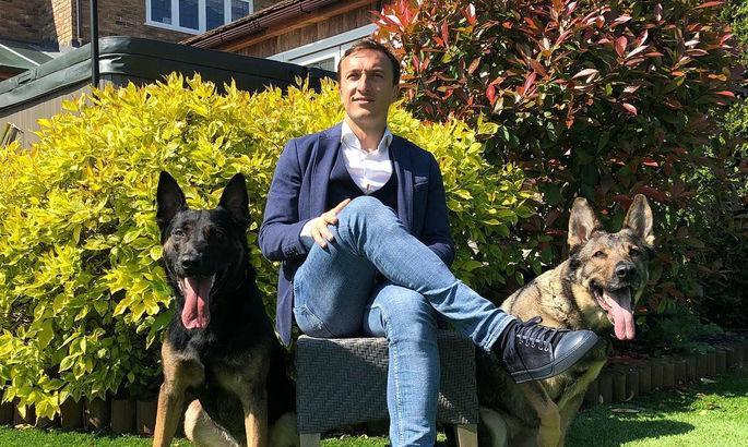 Футболисты АПЛ покупают собак за 25 тысяч фунтов для защиты от грабителей. ФОТО
