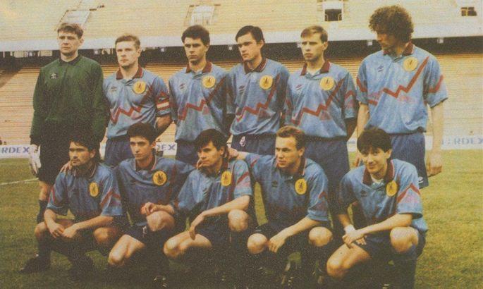 26 років тому збірна України вперше перемогла на своєму полі. А пропустила від майбутньої легенди УПЛ