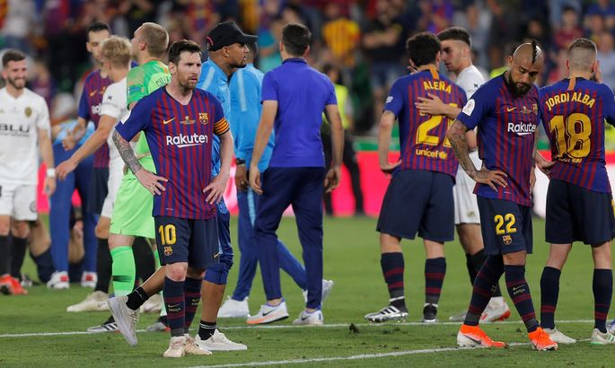 Год назад Барселона проиграла финал Кубка Короля. Вместо требла довольствовались победой лишь в Ла Лиге