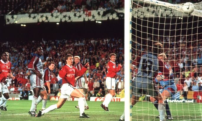90+1', 90+3': ровно 21 год назад Манчестер Юнайтед шокировал Баварию в финале ЛЧ на Камп Ноу