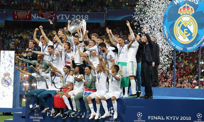 Два года назад Реал третий раз подряд выиграл Лигу чемпионов. Это уникальный случай в истории турнира