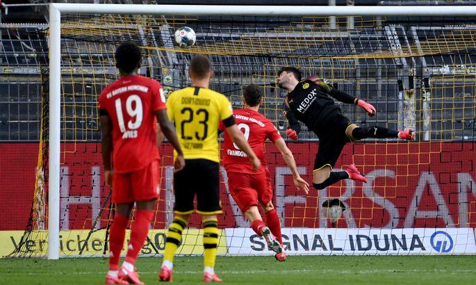 Боруссія Дортмунд - Баварія 0:1. Огляд матчу та відео голу