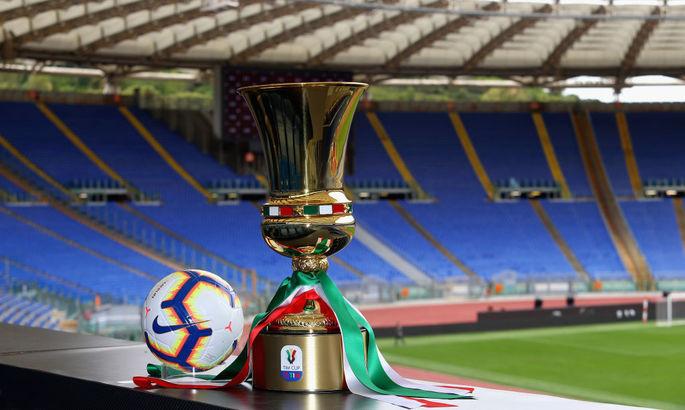 Кубок Італії. Перший раунд. Матчі середи