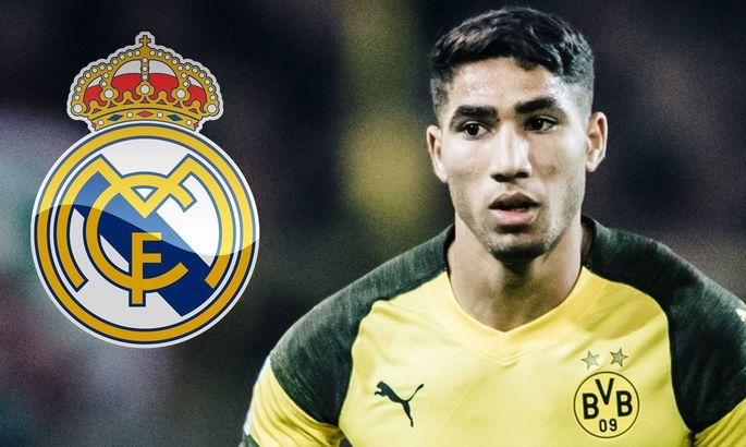 Агент Хакими: Цель Ашрафа – выступать за Реал, но никакой спешки нет