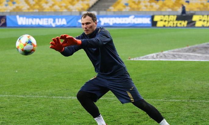 Четыре года назад Пятов провел один из худших матчей за сборную Украины. Но партнеры вступились