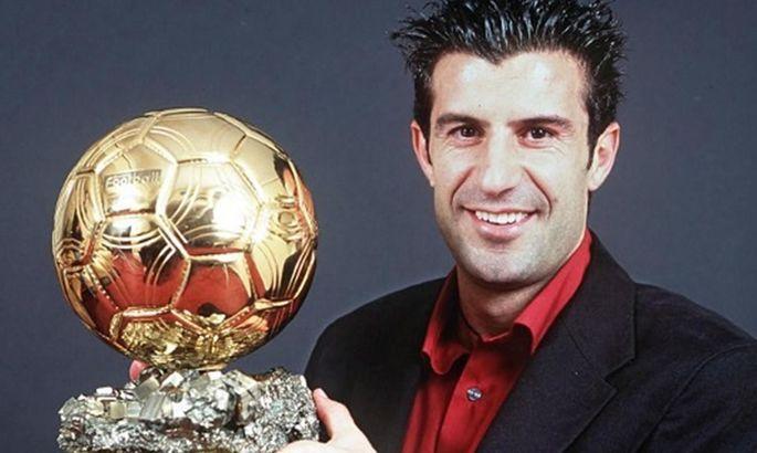 Фигу: Раньше было трудно выиграть Золотой мяч, претендовали не только Месси и Роналду