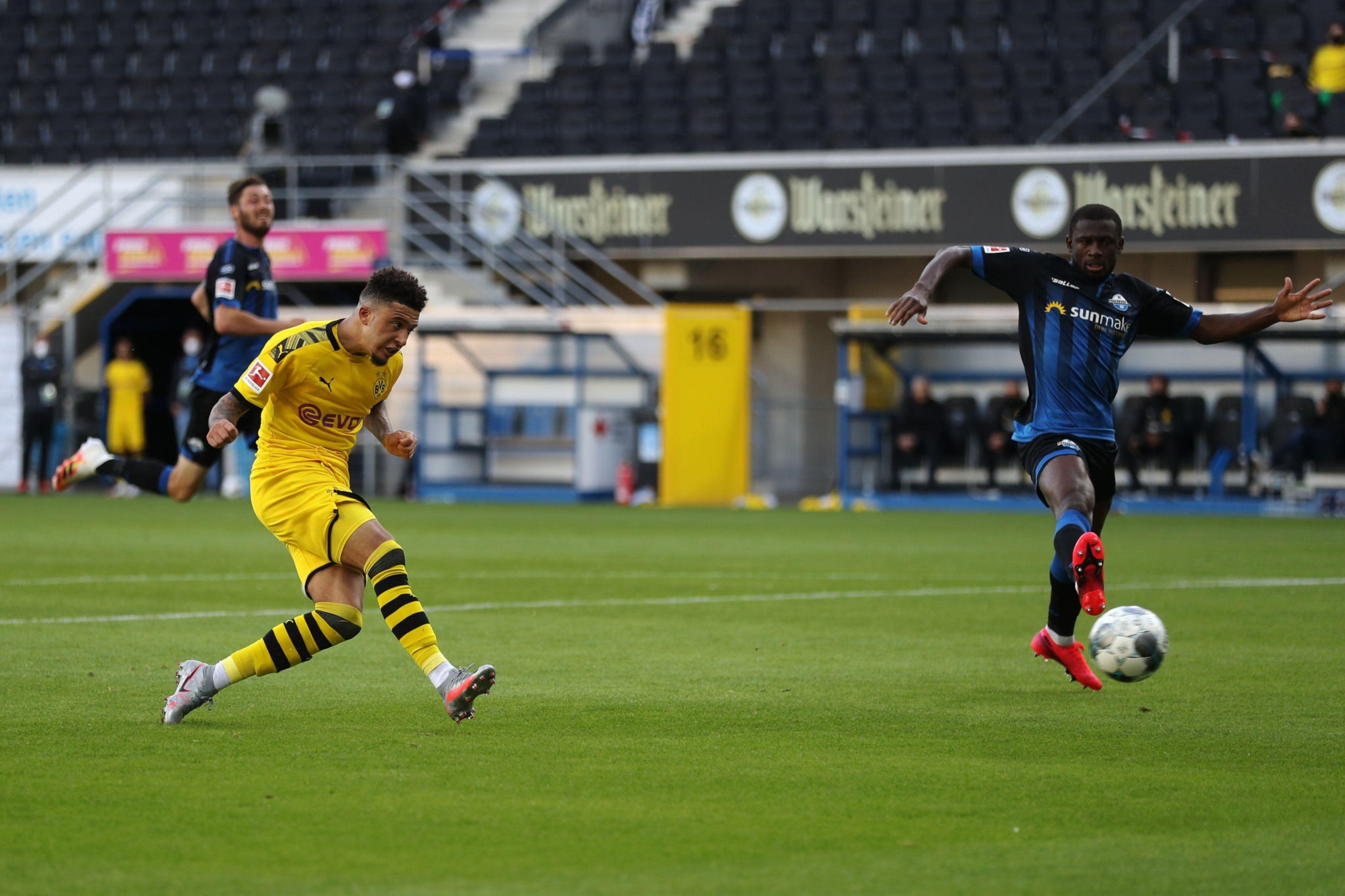 Санчо оформив перший хет-трик і став наймолодшим гравцем в Бундеслізі, який забив 30 голів - изображение 1
