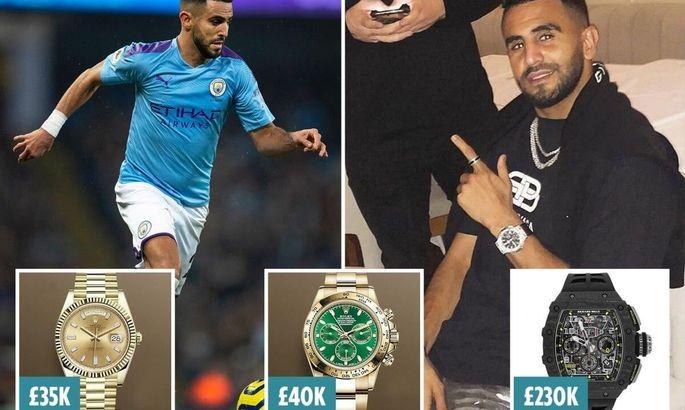 Коллекция футболок и часы. Игрока Манчестер Сити обокрали на более чем 600 000 долларов