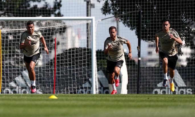 С Азаром и Асенсио: Мадридский Реал приступил к полноценным тренировкам