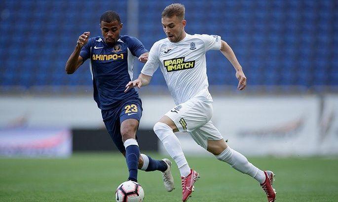 Защитник Олимпика о матче с Днепром-1: Игра была равна
