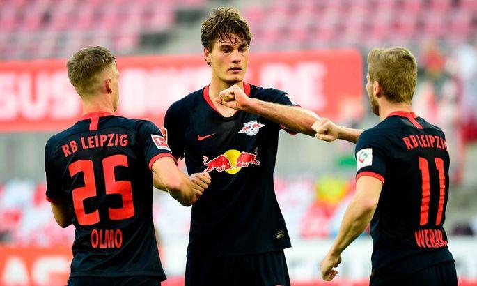 Бундеслига. Шесть голов в матче Кельна с Лейпцигом