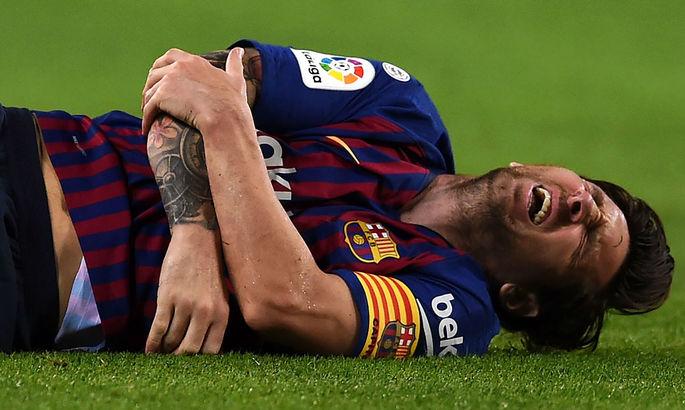 AS: Месси может пропустить матч с Мальоркой из-за травмы