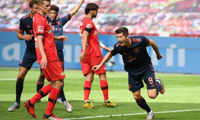 Левандовски побил личный рекорд по голам за клубный сезон