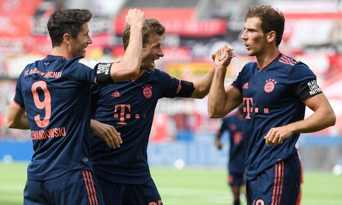Байер - Бавария 2:4. Обзор матча и видео голов