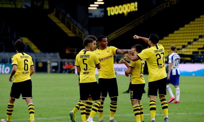 Боруссия Дортмунд - Герта 1:0. Обзор матча и видео гола