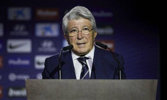Президент Атлетико: Мы – особенная команда. Не удивляйтесь, если выиграем ЛЧ и без зрителей на трибунах