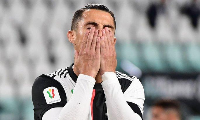 Роналду не забил пенальти впервые с января 2019-го