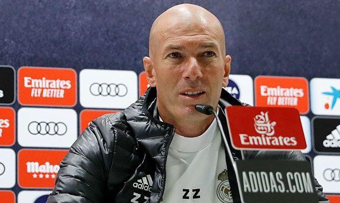 Зінедін Зідан: У Реала попереду 11 фіналів, і ми будемо намагатися з усіх сил виграти Ла Лігу