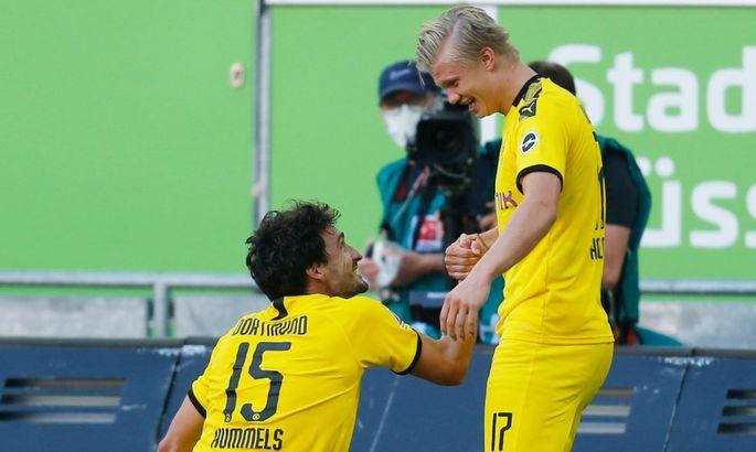 Бундеслига. Победный гол Холанда на 95-й минуте, Айнтрахт разгромил Герту