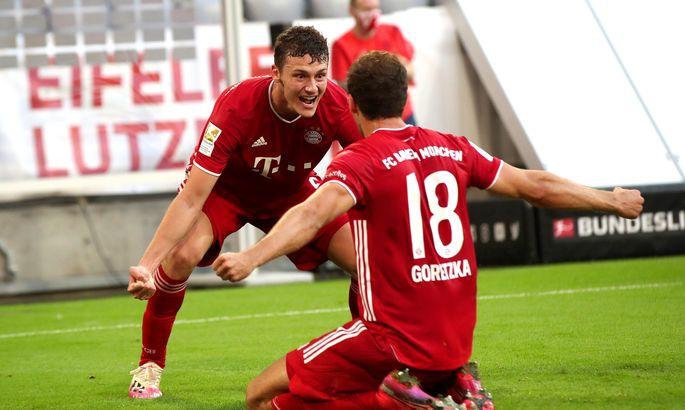 Бавария - Боруссия Менхенгладбах 2:1. Шаг к чемпионству
