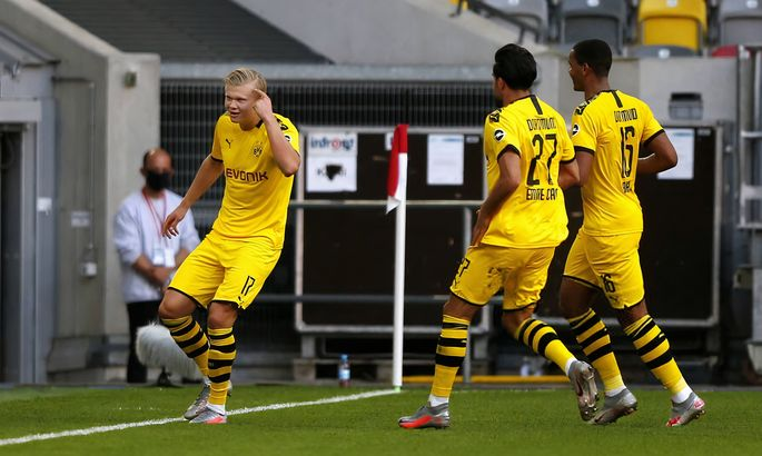 Холанд-спаситель. Фортуна - Боруссия Дортмунд 0:1. Обзор матча и видео гола