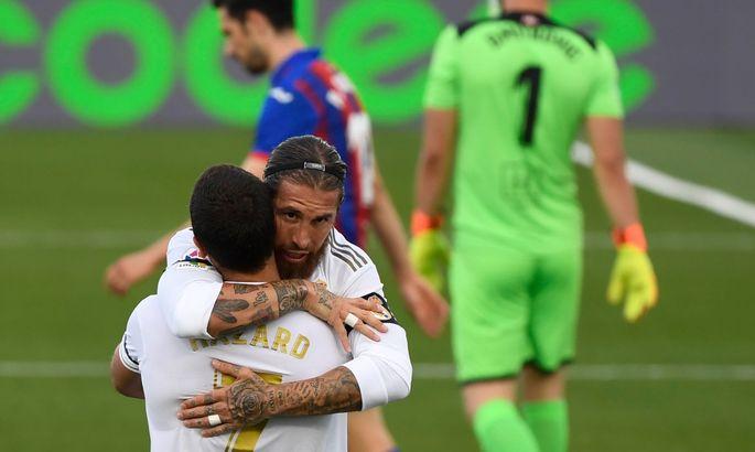 Рамос после матча с Эйбаром: Команда вернулась и играет наилучшим образом