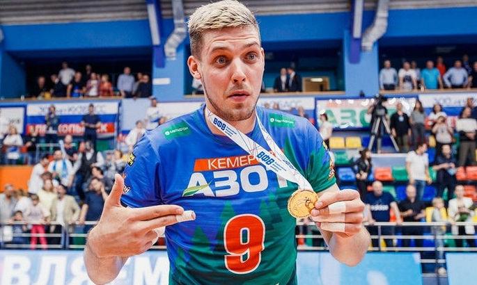 Украинский волейболист переметнулся на сторону России