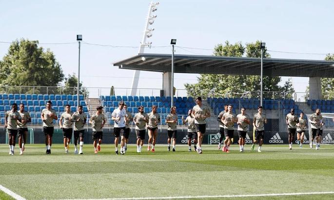 Відразу два футболісти Реала пропустили тренування після гри з Ейбаром