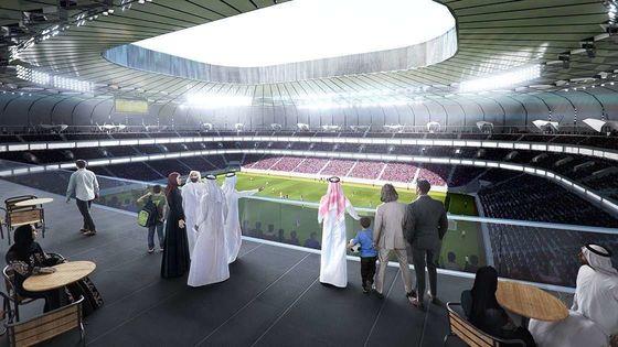 """""""Алмаз в пустыне"""". В Катаре открыли третий стадион к ЧМ-2022 - изображение 1"""