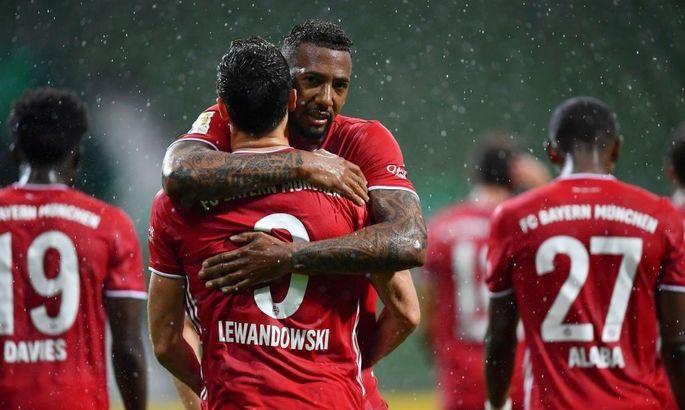 Бавария в 30-й раз в своей истории выиграла чемпионат Германии