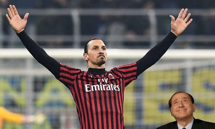 СМИ: Златан требует у Милана улучшенный контракт – Берлускони готов приютить шведа в случае отказа