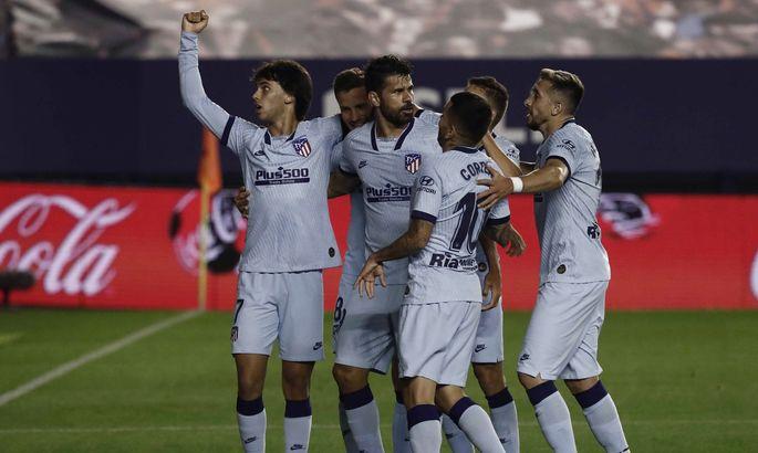 Осасуна - Атлетико 0:5. Крупнейшая победа Матрасников в сезоне
