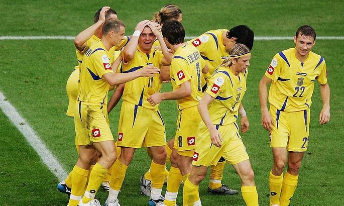 Сегодня годовщина первой победы сборной Украины на Чемпионате мира. ВИДЕО