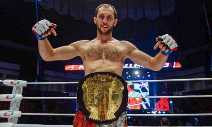 Українець виступить на «Бійцівському острові» UFC
