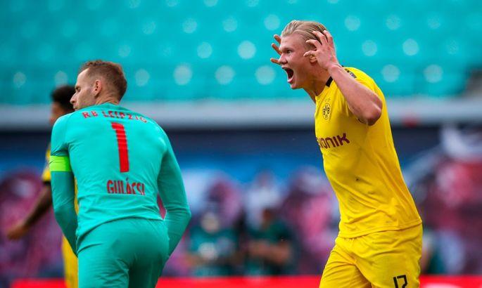 РБ Лейпциг - Боруссия 0:2. Дубль Холанда принес Дортмунду серебро