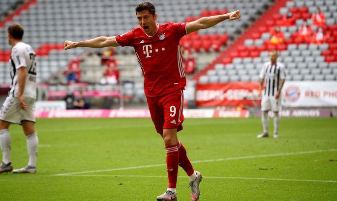 Левандовски побил рекорд Бундеслиги по голам за сезон среди легионеров