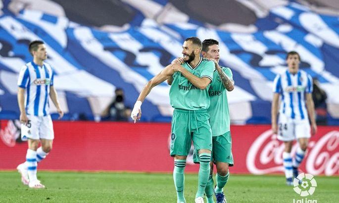 Конкурент снова за спиной. Реал Сосьедад - Реал 1:2. Обзор матча и видео голов