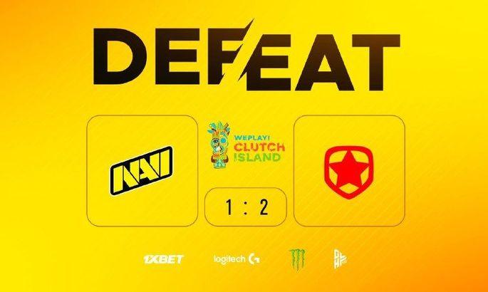 NaVi потерпели поражение от Gambit Youngsters в рамках WePlay! Clutch Island