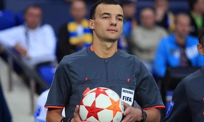 УЕФА не допустил украинского арбитра к судейству матча Лиги Европы. Тест на COVID дал положительный результат