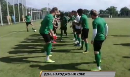 Перед полуфиналом Кубка Украины Ворскла гуляла Мариуполем и праздновала день рождения
