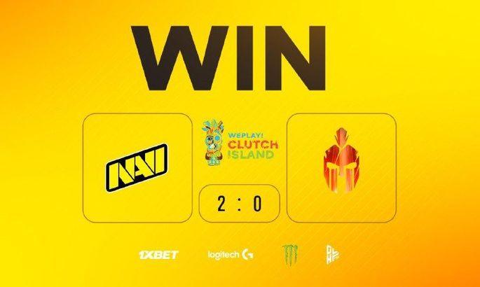 NaVi одержали первую победу на СS:GO - WePlay! Clutch Island