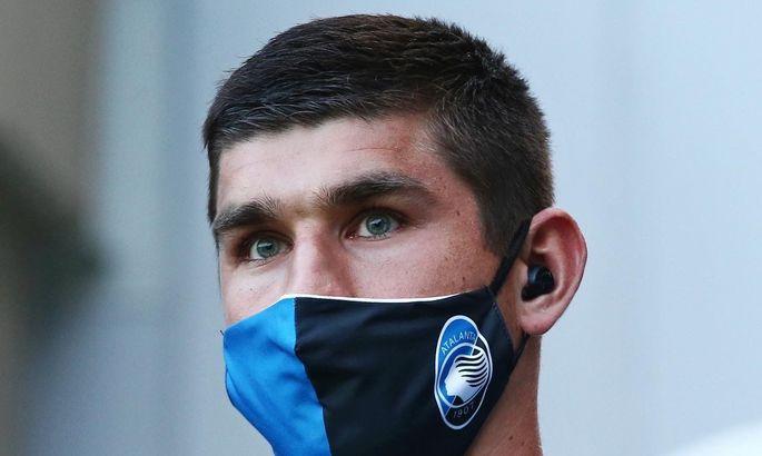 Малиновский - в стартовом составе Аталанты на матч с Лацио