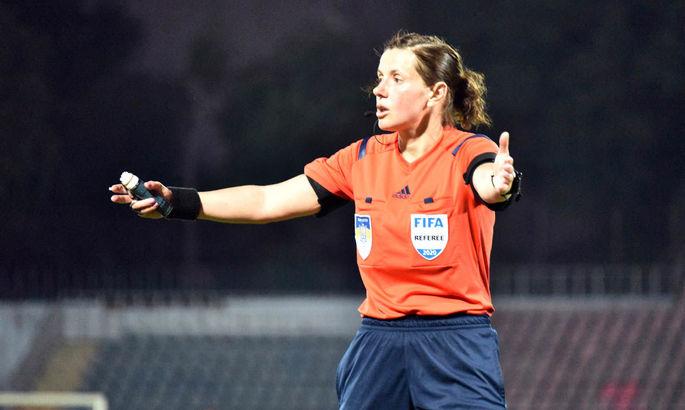 Екатерина Монзуль назначена на ключевой матч тура в Первой Лиге