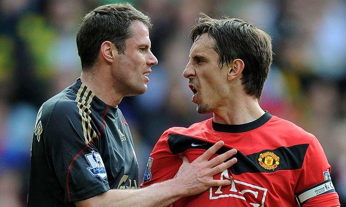 Каррагер эффектно потроллил Невилла – экс-капитану Юнайтед пришлось бежать в Манчестер