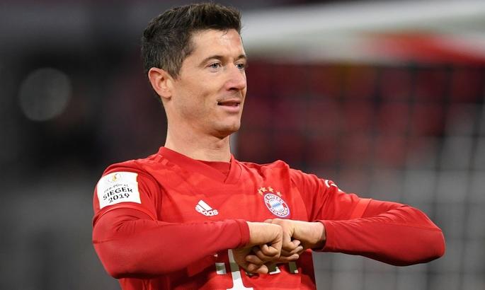 Роберт Левандовски - игрок сезона в Бундеслиге