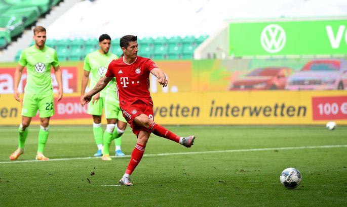 Левандовски стал лучшим бомбардиром Бундеслиги сезона 2019/20
