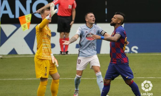 Удар по чемпионским амбициям. Сельта - Барселона 2:2. Обзор матча и видео голов