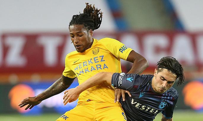 Жерсон Родригес вновь забил, после чего был удален с поля в матче с Трабзонспором