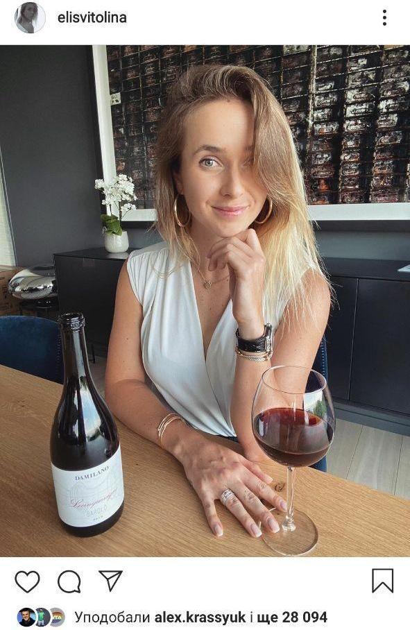 Элина Свитолина: Субботы - для вина, когда я попробовала его, мое сердце снова оказалось в Италии. Фото - изображение 1