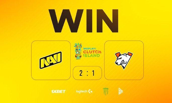 NaVi обыграли Virtus.pro в дерби СНГ и прошли в гранд-финал WePlay! Clutch Island